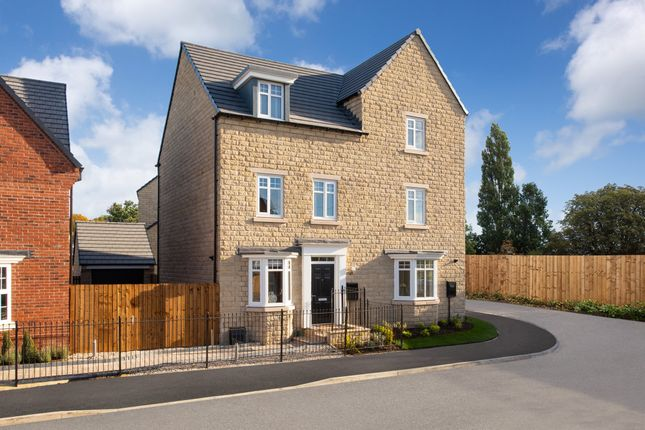 "Thumbnail Semi-detached house for sale in ""Millwood"" at Sandbeck Lane, Wetherby"