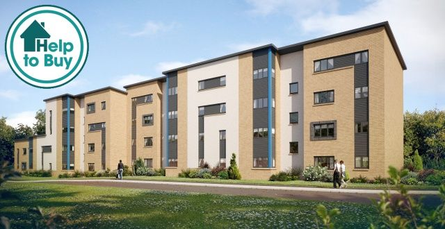 Thumbnail Flat for sale in Redding Road, Laurieston, Falkirk, Stirlingshire