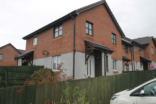 Thumbnail Terraced house to rent in Trevose Way, Plymouth