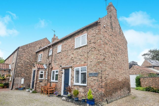 Thumbnail Cottage for sale in The Village, Strensall, York