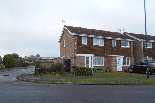 Thumbnail End terrace house to rent in 33 Flansham Park, Flansham, Bognor Regis