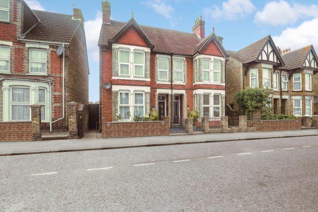 Thumbnail Semi-detached house for sale in Park Road, Sittingbourne, Kent