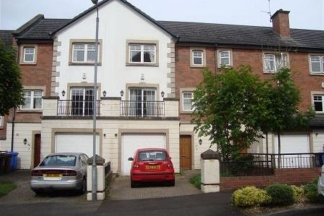 Thumbnail Town house to rent in The Boulevard, Belfast