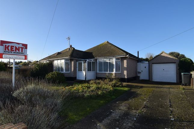 Thumbnail Detached bungalow for sale in Smugglers Way, Birchington