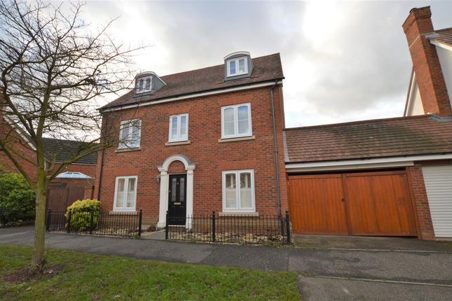 Thumbnail Detached house for sale in Maximus Drive, Colchester