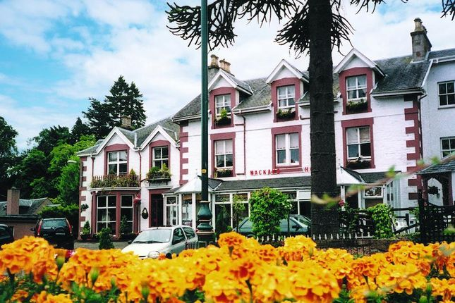 Thumbnail Hotel/guest house for sale in Mackays Hotel, Strathpeffer, Highland