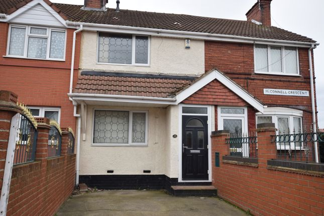 Thumbnail Terraced house to rent in Mcconnel Crescent, New Rossington, Doncaster