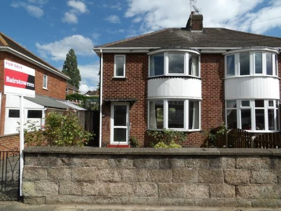 Thumbnail 2 bed semi-detached house for sale in Meden Road, Mansfield Woodhouse, Mansfield, Nottinghamshire