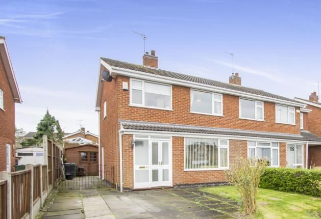 Thumbnail Semi-detached house for sale in Buckingham Drive, Loughborough, Leicestershire, Loughborough