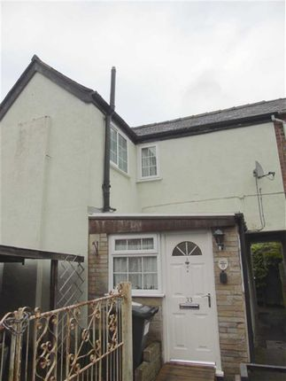 Thumbnail End terrace house for sale in 33, Wellington Crescent, Welshpool, Powys
