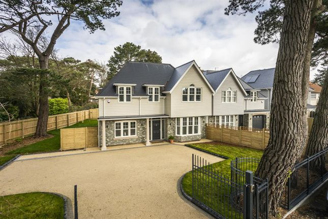 Thumbnail Detached house for sale in Beaumont Road, Canford Cliffs, Poole