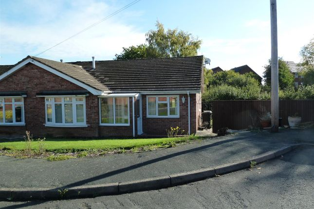 Thumbnail Semi-detached bungalow to rent in Llwyn Crescent, Morda, Oswestry