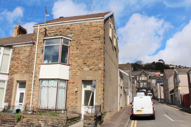 Thumbnail End terrace house for sale in Cromwell Street, Mount Pleasant, Swansea