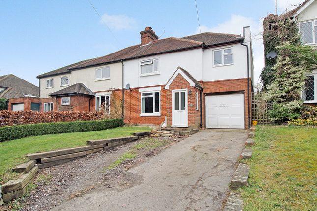Thumbnail Semi-detached house for sale in Alton Road, South Warnborough, Hampshire