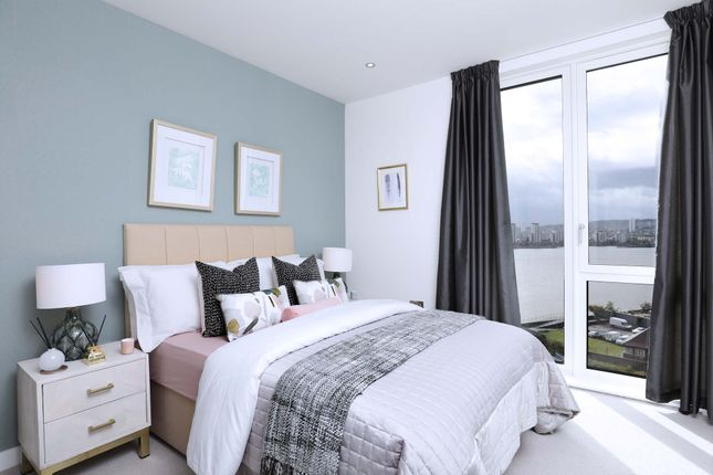 Thumbnail Flat for sale in Royal Albert Wharf, The Royal Docks, London