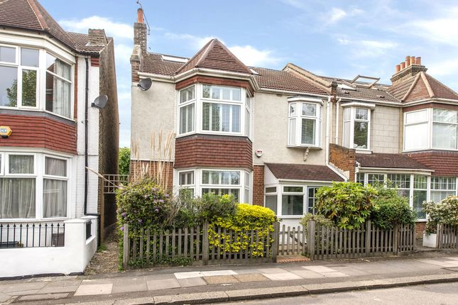 Thumbnail Semi-detached house for sale in Strathearn Road, Wimbledon