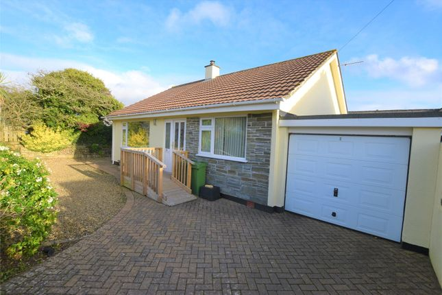 Thumbnail Bungalow for sale in Rose Meadows, Goonhavern, Truro