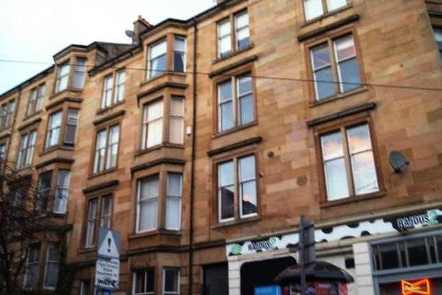 Thumbnail Flat to rent in Gibson Street, Glasgow