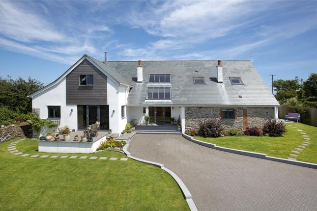 Thumbnail Detached house for sale in Lanreath, Looe, Cornwall