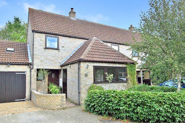 Thumbnail Semi-detached house for sale in College Farm Court, Fen Drayton, Cambridge