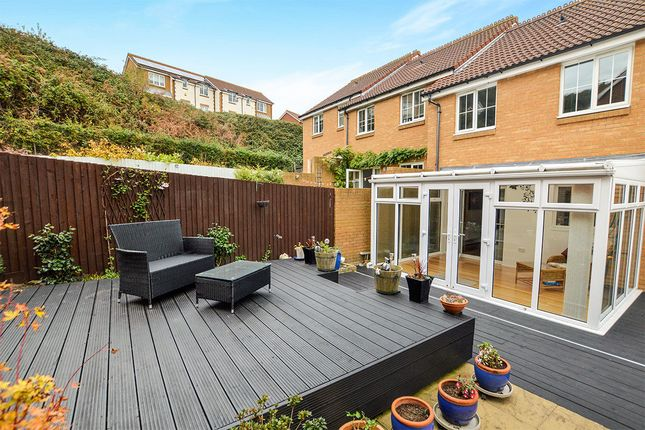 Thumbnail Terraced house to rent in Lower Corniche, Hythe