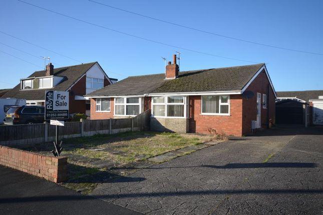Thumbnail Semi-detached bungalow to rent in 25 Elmwood Avenue, Preesall
