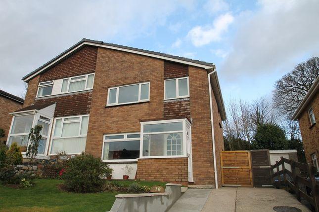 Thumbnail Semi-detached house for sale in Langham Way, Ivybridge