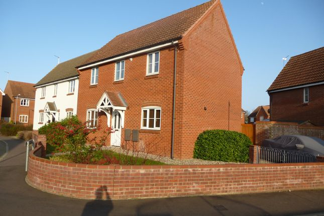 Thumbnail Detached house to rent in Banting Close, Gorleston, Great Yarmouth
