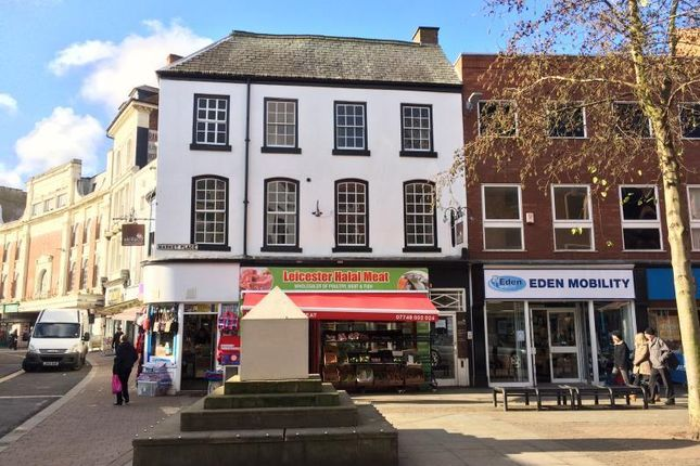 Thumbnail Office to let in 46, Market Place, Leicester