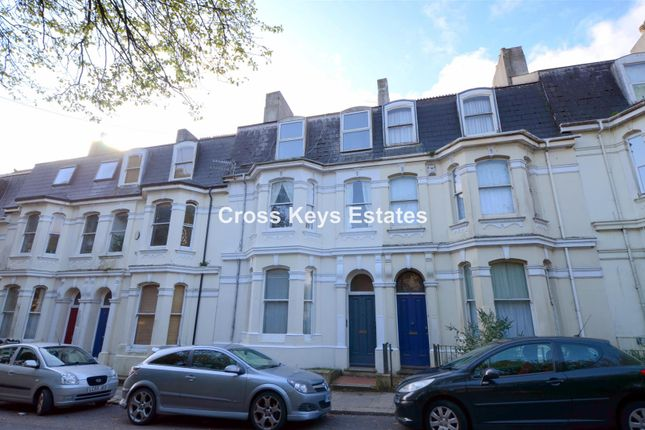 Thumbnail Town house for sale in Mount Gould Road, Plymouth