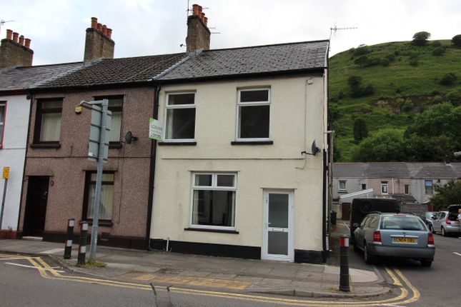 Thumbnail End terrace house to rent in Marine Street, Ebbw Vale