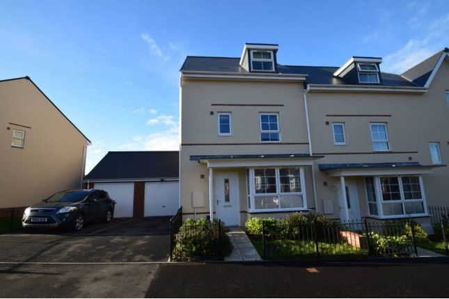 Thumbnail Town house for sale in Clayhill Drive, Yate