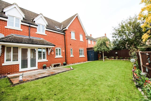 Thumbnail Detached house for sale in Bellings Road, Haverhill, Suffolk