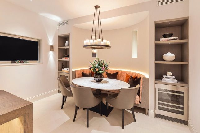 Dining Area of Pond Place, Chelsea, London SW3