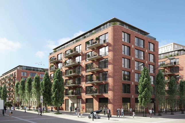 Thumbnail Flat for sale in Duke Of Wellington Avenue, Arsenal Riverside, Woolwich