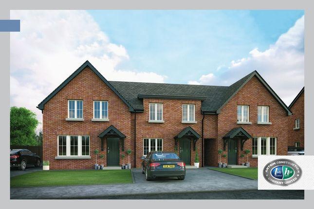 Thumbnail 3 bed terraced house for sale in Porter Green, Ballyhampton Road, Larne