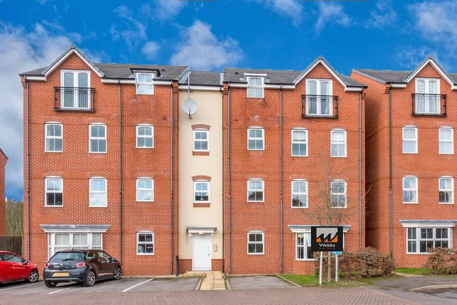 Thumbnail Flat for sale in Violet Close, Huntington, Cannock