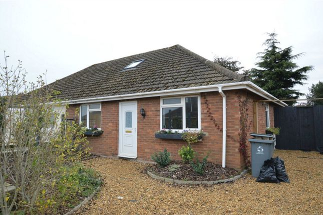 Thumbnail Semi-detached bungalow for sale in Bracey Avenue, Sprowston, Norwich