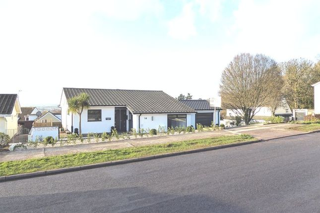 Thumbnail Detached bungalow for sale in Purbeck Avenue, Torquay