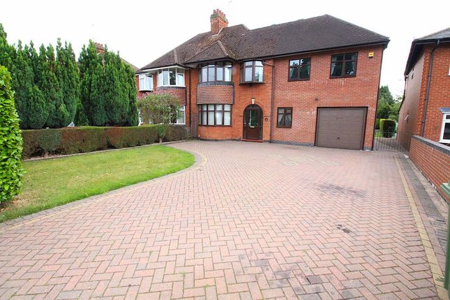 Thumbnail Semi-detached house to rent in Hillmorton Road, Rugby
