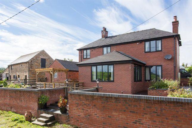 Thumbnail Detached house for sale in Butterton, Leek