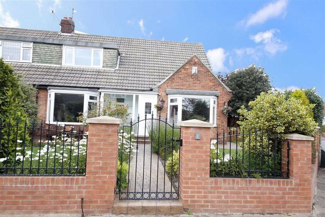 Thumbnail Semi-detached bungalow for sale in Baslow Gardens, Off Crosslea Avenue, Sunderland