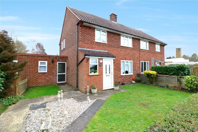Thumbnail Semi-detached house for sale in Meadow Way, Bedmond, Abbots Langley