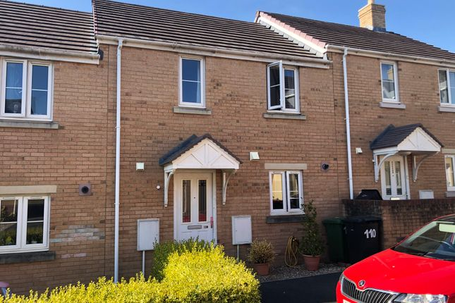 Thumbnail Terraced house to rent in Nadder Meadow, South Molton