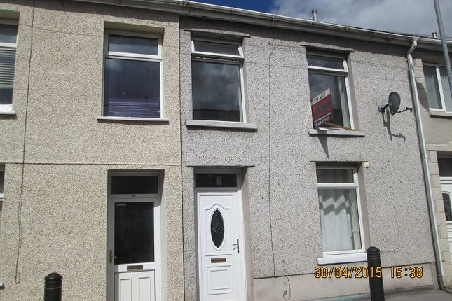 Thumbnail Terraced house to rent in Jersey Road, Blaengwynfi, Port Talbot, Neath Port Talbot.