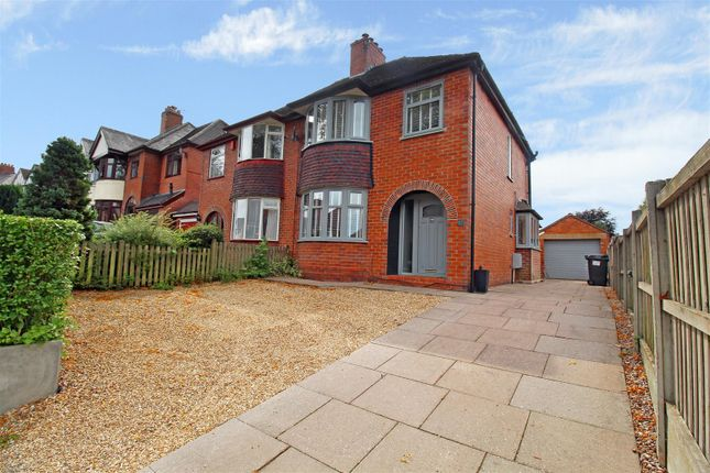 Thumbnail Semi-detached house for sale in Lincoln Avenue, Clayton, Newcastle-Under-Lyme