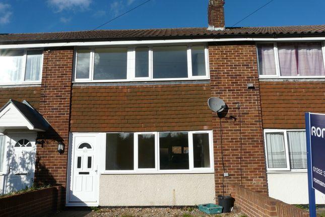 Thumbnail End terrace house to rent in Belle Vue Road, Aldershot