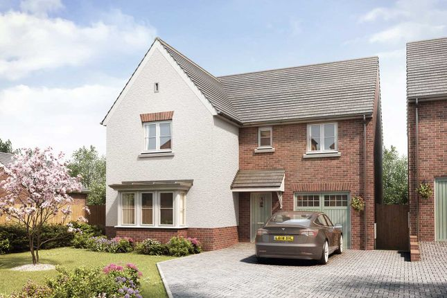 "Thumbnail Detached house for sale in ""The Grainger"" at Gipsy Hill Lane, Exeter"