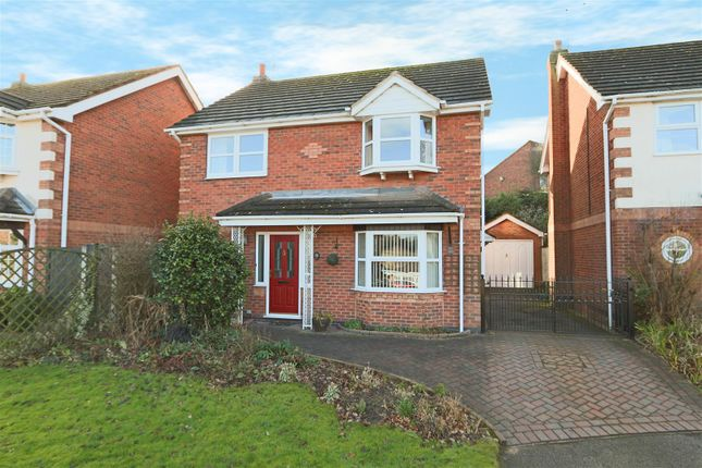Thumbnail Detached house for sale in Deer Park Drive, Arnold, Nottingham