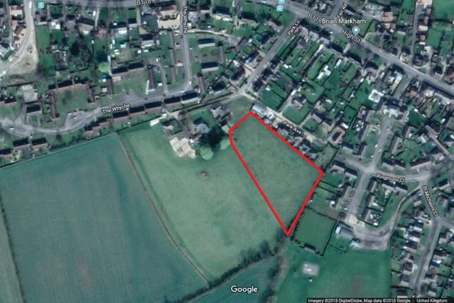 Thumbnail Land for sale in Park Lane, Billinghay, Lincoln